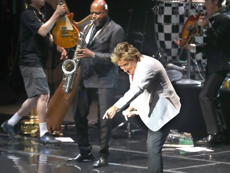 Rod Stewart, ahir al Festival de Cap Roig JOSÉ IRUN