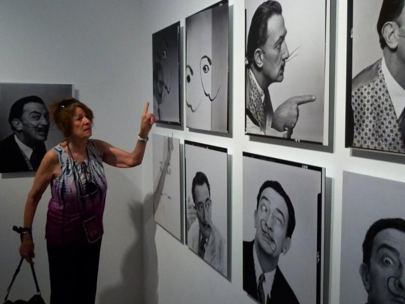 Irene Halsman, ahir a Figueres F.G.S.D