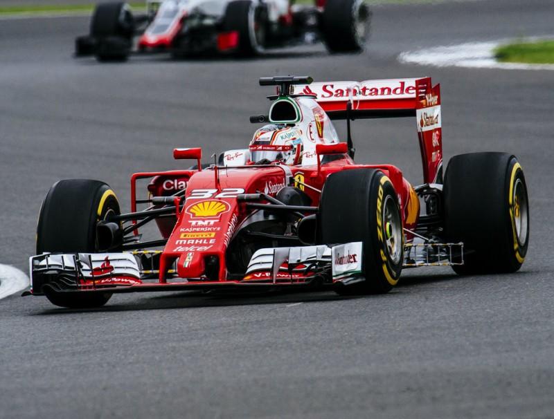 Leclerc, al volant del Ferrari SF16-H, ahir FERRARI