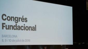 El congrés fundacional del Partit Demòcrata Català JOSEP LOSADA