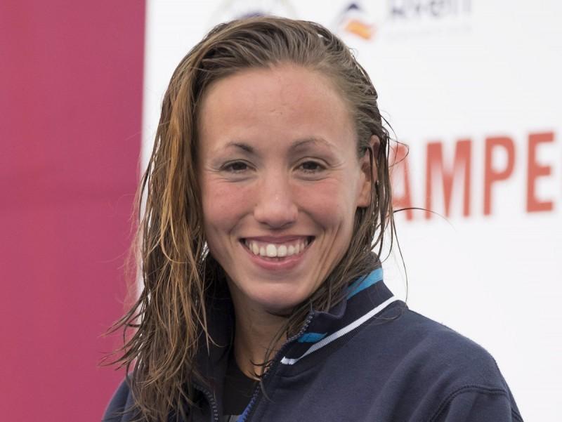 Jessica Vall va dominar amb autoritat en els 100 m braça EFE