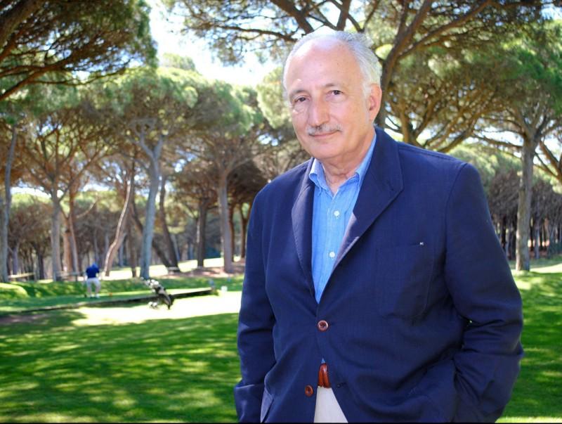 Baltasar Parera al camp de golf de Pals HELENA GORGOLL