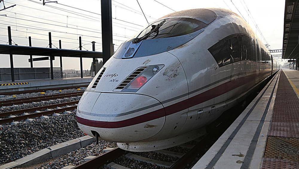 Un tren de la línia d'alta velocitat