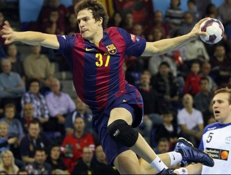 Saubich, amb la samarreta del Barça EFE