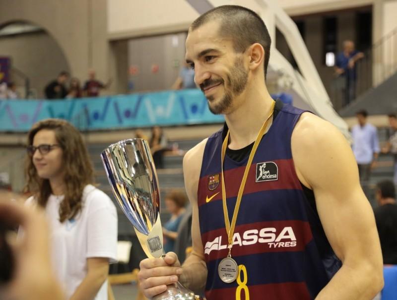 Ribas l'MVP de l'última Lliga Catalana a Granollers FCBQ