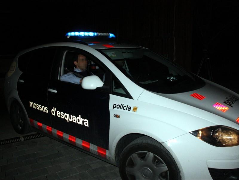 Imatge d'arxiu d'un cotxe dels Mossos d'Esquadra ACN