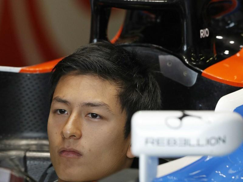 Rio Haryanto, fins ahir pilot de Manor. AFP