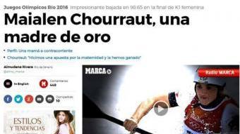 Exemples de titulars (o imatges, com la de Mireia Belmonte) sexistes sobre els Jocs. Les xarxes socials han contribuït a fer-los visibles, cosa que demostra que no són casos aïllats, i a promoure el debat des d'una òptica de gènere ARXIU