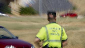 Un agent de laGuàrdiaCivil que va participar en la detenció EFE