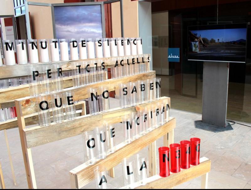 L'exposició es pot visitar fins al 18 de setembre. Les fotos són de Guille Barberà i la instal·lació, de Maria Pons Calvet CEDIDA