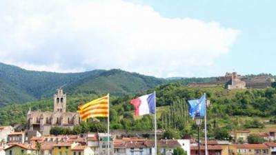 Prats de Molló fa frontera entre el Vallespir i el Ripollès Arxiu