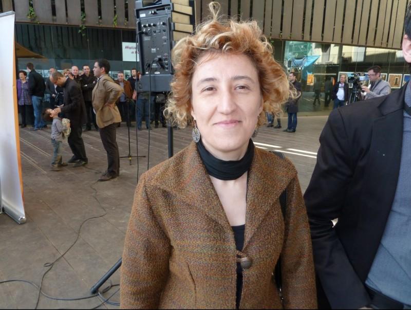 Carme Freixa, alcaldessa de Vallfogona. J.C