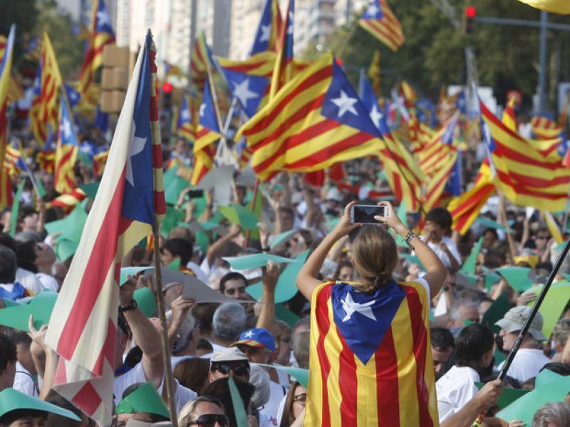 La manifestació de demà tornarà a deixar previsiblement imatges multitudinàries en cinc punts diferents, com l'any passat a la Meridiana de Barcelona  Oriol Duran