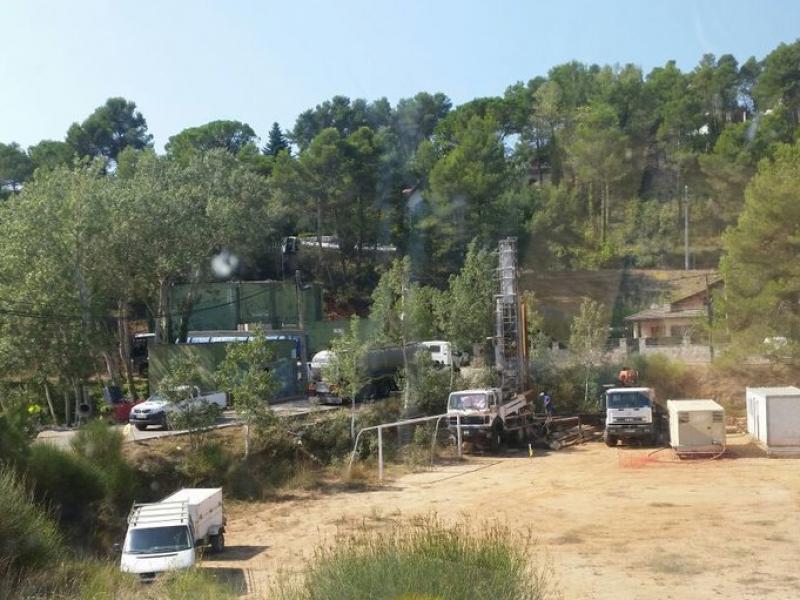 Els treballs de prospecció van començar el mes d'agost al nucli de La Font del Bosc. INFOANOIA