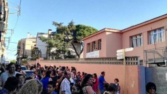 Inici del curs escolar en una de les escoles del municipi de Tordera A. TORDERA
