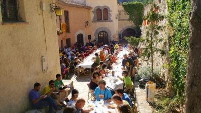 Miramar és tradicional punt i trobada al Correllengua EPN
