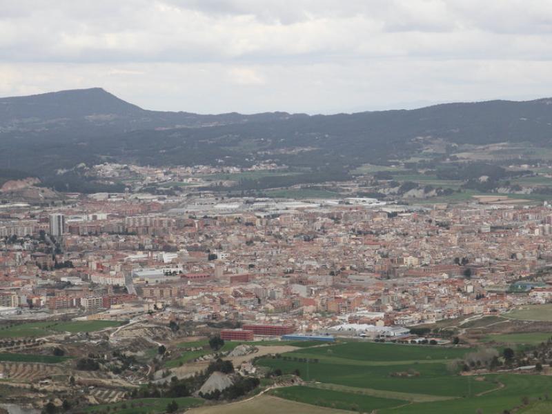 La conurbació de la Conca d'Òdena aplega uns 70.000 habitants de diferents municipis. ÒSCAR LÓPEZ
