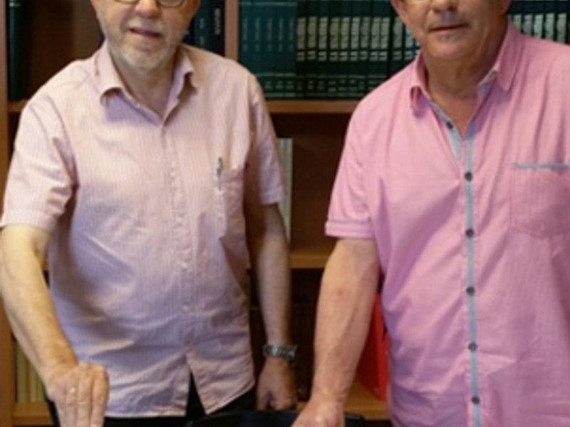 Els germans Potau han fet la dació documental EPN