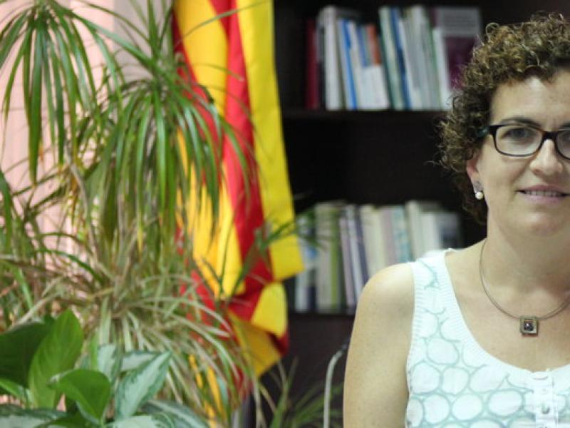 Agnès Ferré, alcaldessa de la Bisbal per CiU. C. MORELL / TAEMPUS
