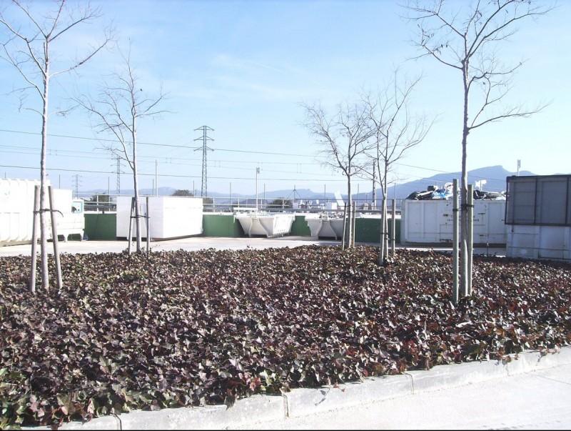 Una de les deixalleries de que disposa la comarca de la Conca de Barberà on es trasllada el material de rebuig EPN
