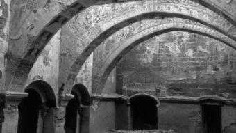 El 1936, després de l'incendi.  JOSEP GUDIOL