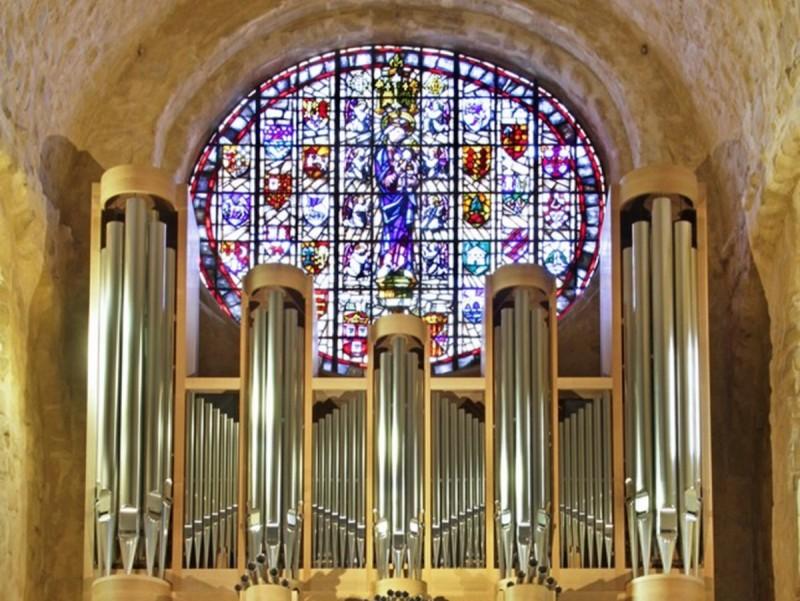 L'orgue inaugurat el 2012 va ser dissenyat pensant en la música del barroc europeu EPN
