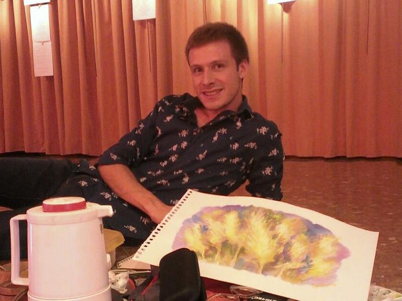 El pintor argentí resideix actualment a l'Espluga EPN