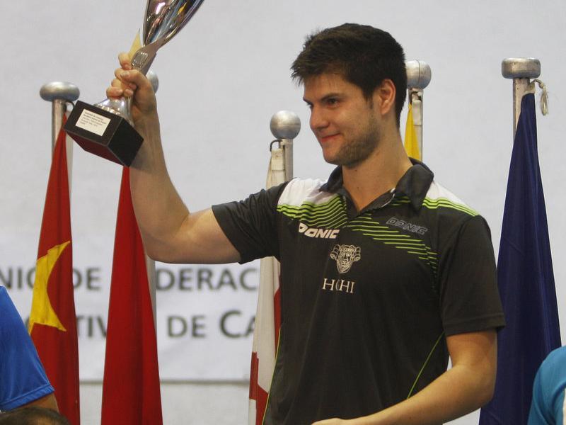 El guanyador dels dos darrers anys, l'alemany Dimitrij Ovtcharov. O. DURAN