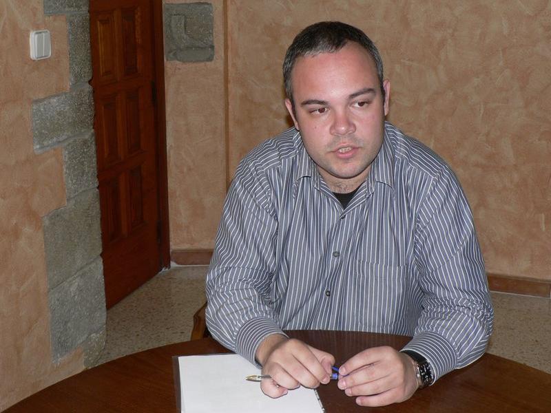 L'alcalde de les Planes, Eduard Llorà, l'any 2012 P. LANAO