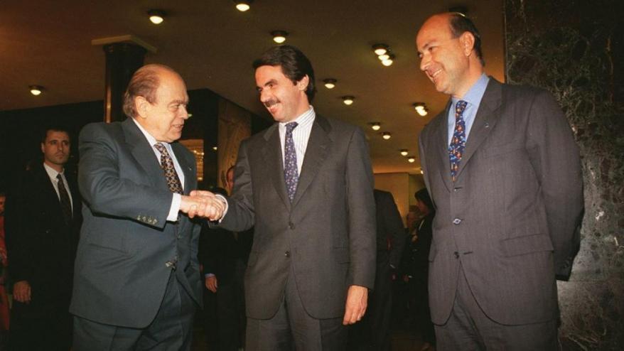 El Pacte del Majèstic es va segellar el 28 d'abril de 1996, a la capital catalana.