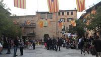 Imatge d'arxiu de la plaça Gran de Santpedor