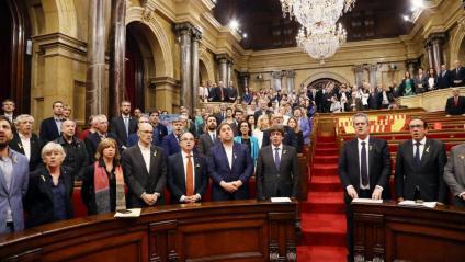 Declaració de la República Catalana del 27 d'octubre del 2017