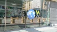 Accés a l'OCDE a París en una imatge d'arxiu