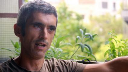 Roger Español, l'home que va perdre un ull per una bala de goma l'1-O