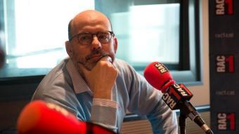 Jordi Basté, a RAC 1, en una imatge d'arxiu