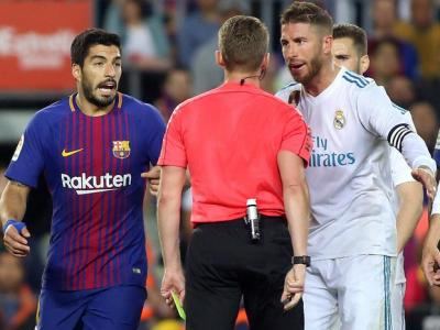 Ramos i Luis Suárez, en un clàssic al Camp Nou
