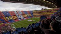 Imatge general del Camp Nou en un Barça-Madrid