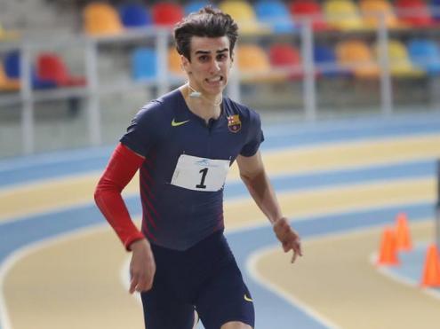 Bernat Erta, plata a l'europeu sub-20