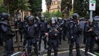 La Policia Nacional l'1-O a l'escola Ramon Llull