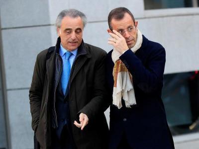 Rosell i el seu advocat Pau Molins