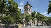 L'edifici històric de la Universitat de Barcelona, al centre de la ciutat