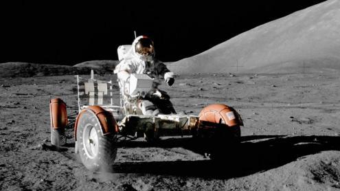 El vehicle tot terreny que es va utilitzar en l'Apollo 17.