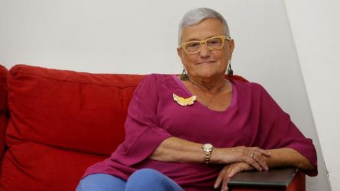 Montserrat Jubanteny ha rebut fa poc la Creu de Sant Jordi