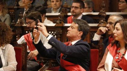 Manuel Valls ja decideix a la Barcelona d'Ada Colau
