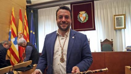 Àlex Pastor (PSC), alcalde de Badalona.