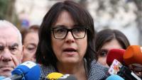 """Diana Riba denuncia al Congrés que l'Estat vol """"vetar i silenciar"""" Junqueras, Puigdemont i Comín"""