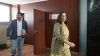 María Luz Guillante i Francisco Sierra, dos dels tres regidors d'obediència a Ciutadans