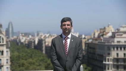 Joan Canadell va estrenar ahir el càrrec de president de la cambra barcelonina