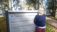 L'exconsellera d'Educació Clara Ponsatí, al seu exili escocès