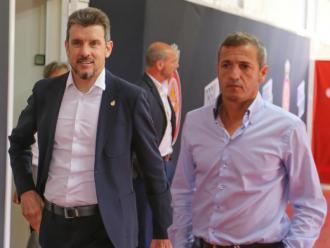 Juan Carlos Unzué i Quique Cárcel avancen en la configuració de la plantilla